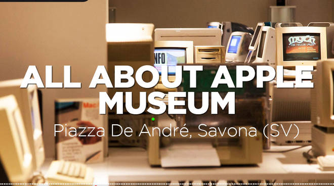 Le Invasioni Digitali all'All About Apple Museum di Savona