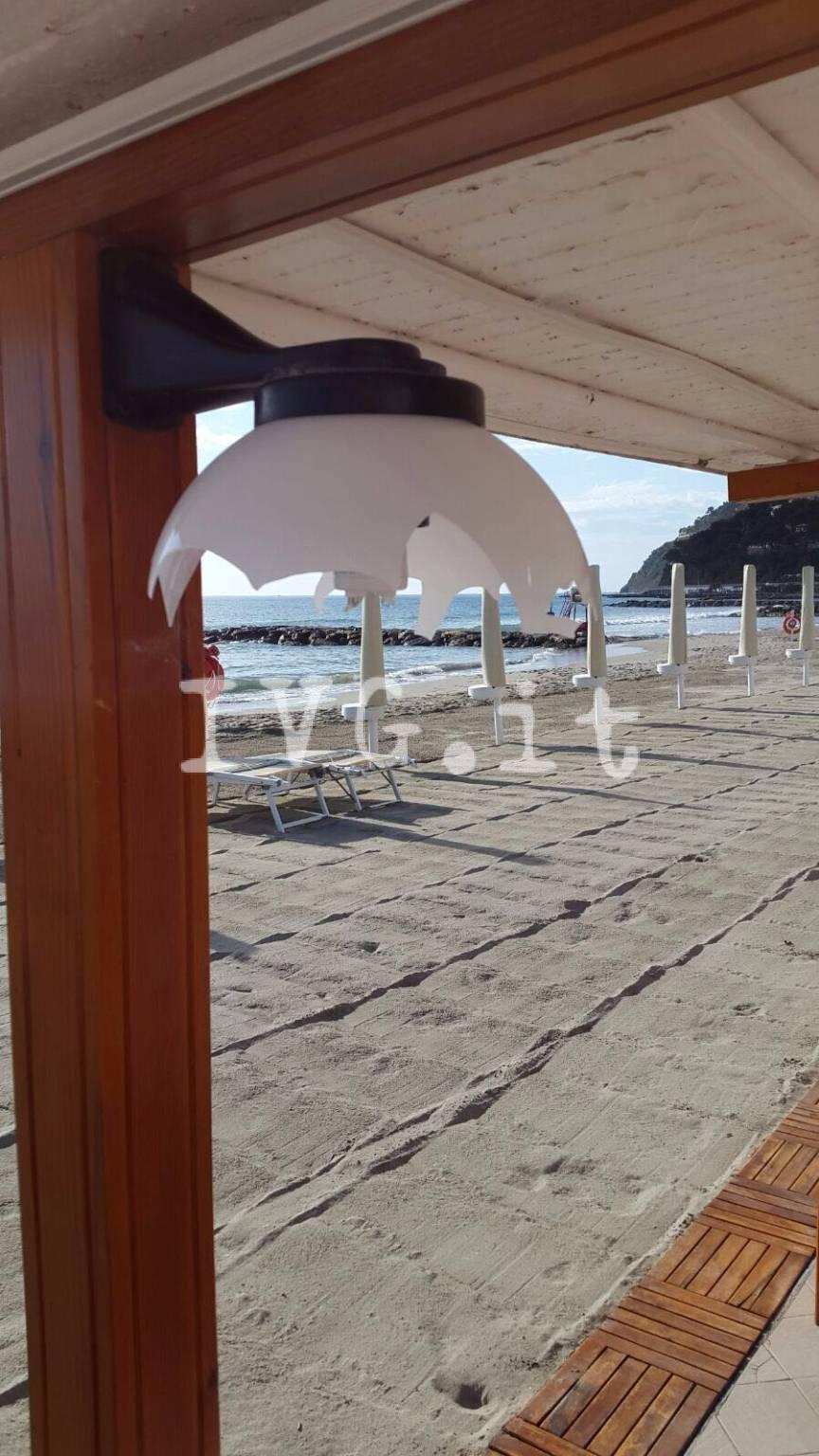 Le spiagge di Laigueglia nel mirino dei vandali