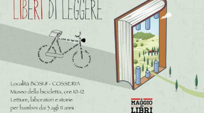 """""""Libri in bici"""" al Museo della bicicletta di Cosseria"""