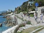 Lungomare Europa ,uno dei tratti più suggestivi della nostra costa, tra    Varazze - Cogoleto