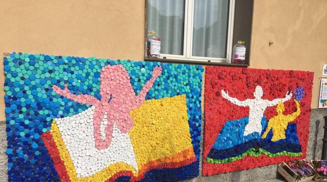 mosaico per celebrare la Final Six
