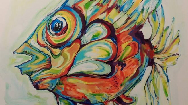 """mostra """"Pisces"""" di Elisa Traverso Lacchini"""