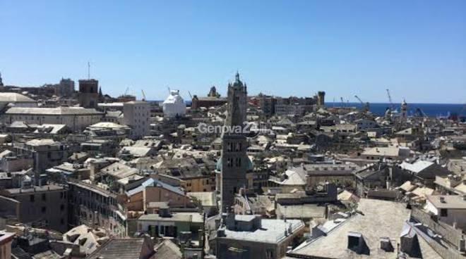 """Panorama di Genova """"Genova in uno sguardo"""""""