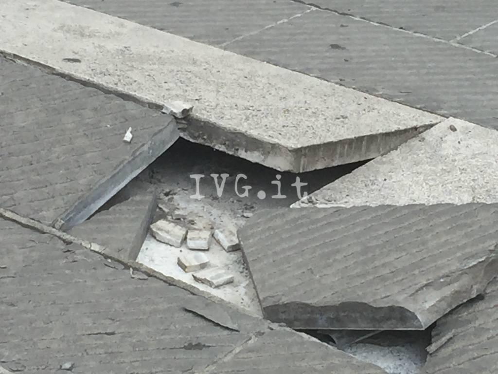 Pavimento piazza sisto