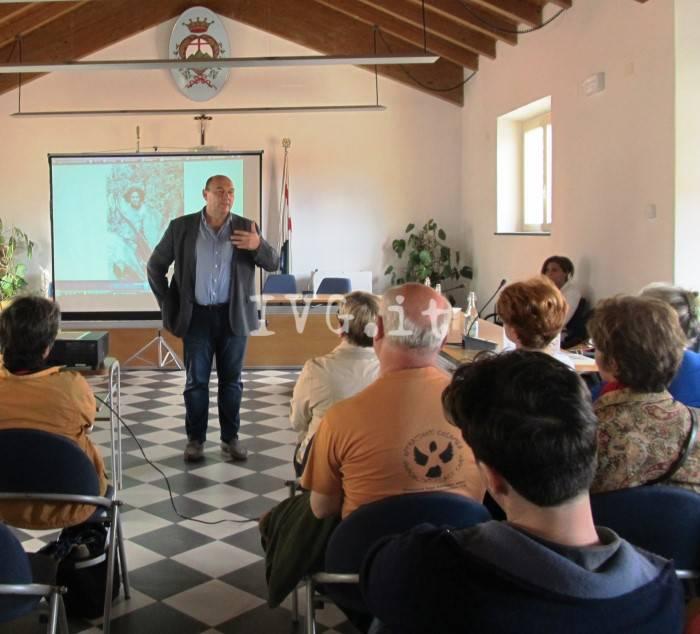 """Pietra, i libri di Libereso Guglielmi protagonisti della rassegna """"Autori di Liguria"""""""