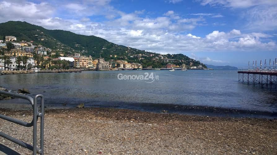 Spiaggia dei Cavallini a Rapallo