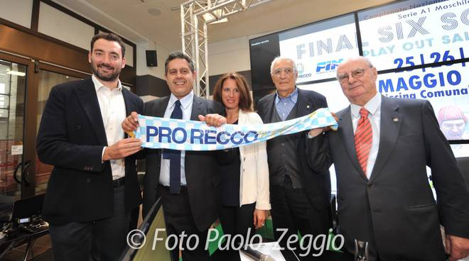 Presentazione Final Six e Play Out di Pallanuoto Sori 25, 26 , 27 Maggio