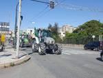 Protesta degli agricoltori, a Genova il corteo dei trattori
