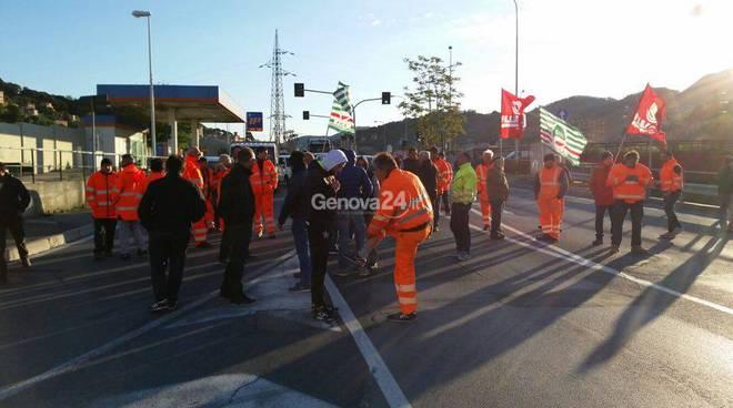 protesta edili trasta