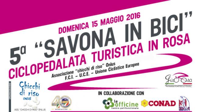 """""""Savona in bici"""" Ciclopedalata Turistica in Rosa"""