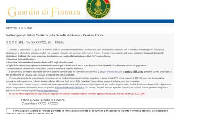 truffa online guardia di finanza