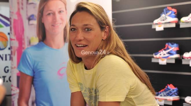 Valentina Arrighetti ospite di Olly Sport in Via della Libertà