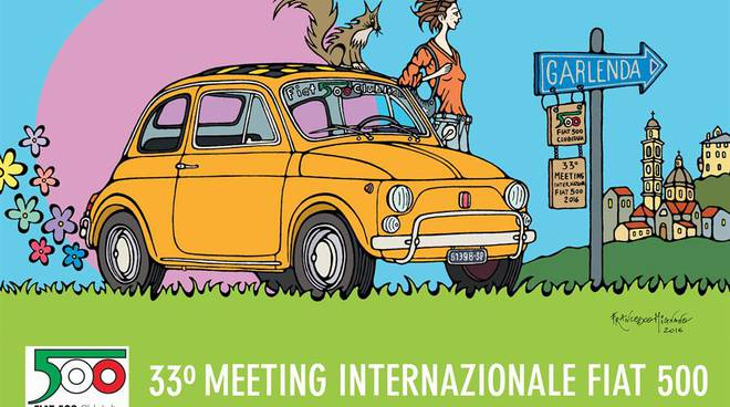 33° Meeting internazionale Fiat 500 Garlenda