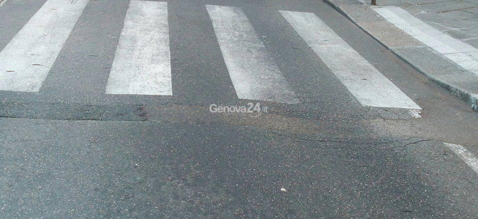 Buche sulle strade di Genova