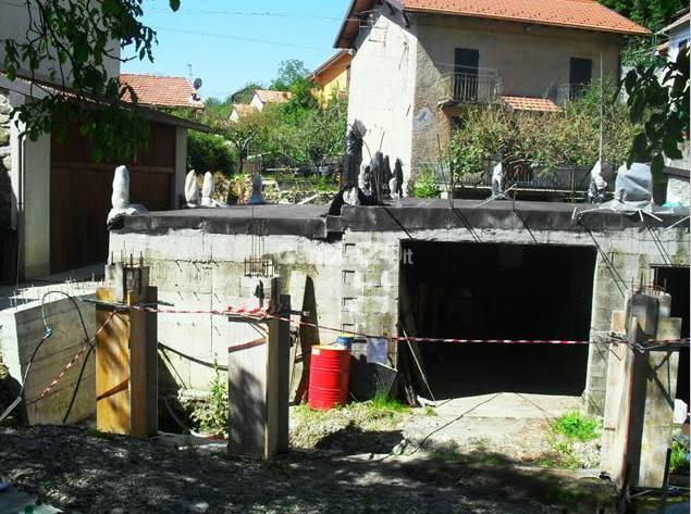 Cantiere abusivo a Montoggio