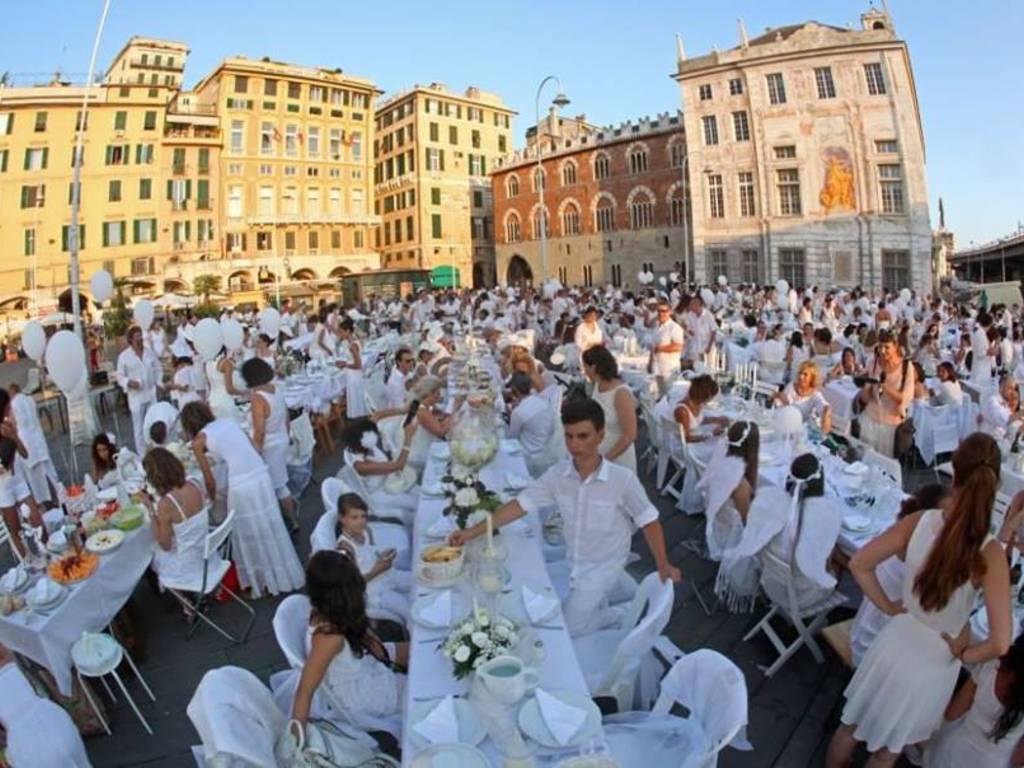 cena in bianco 2015 genova