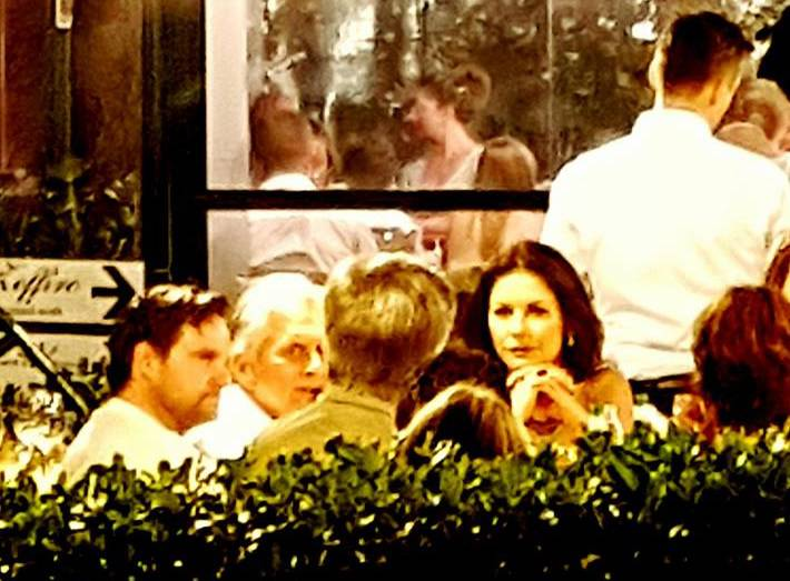 Catherine Zeta-Jones e Michael Douglas
