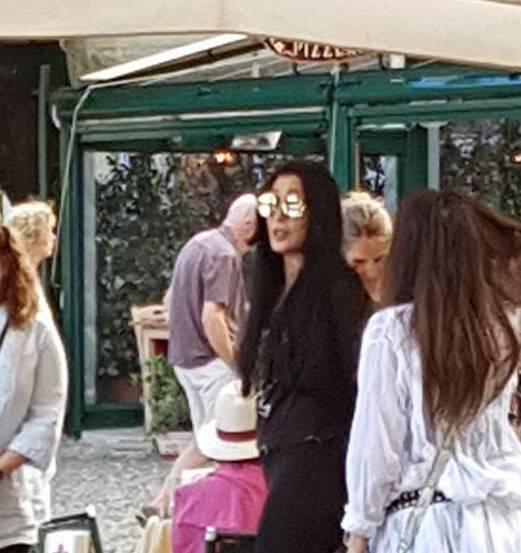 Cher a Portofino
