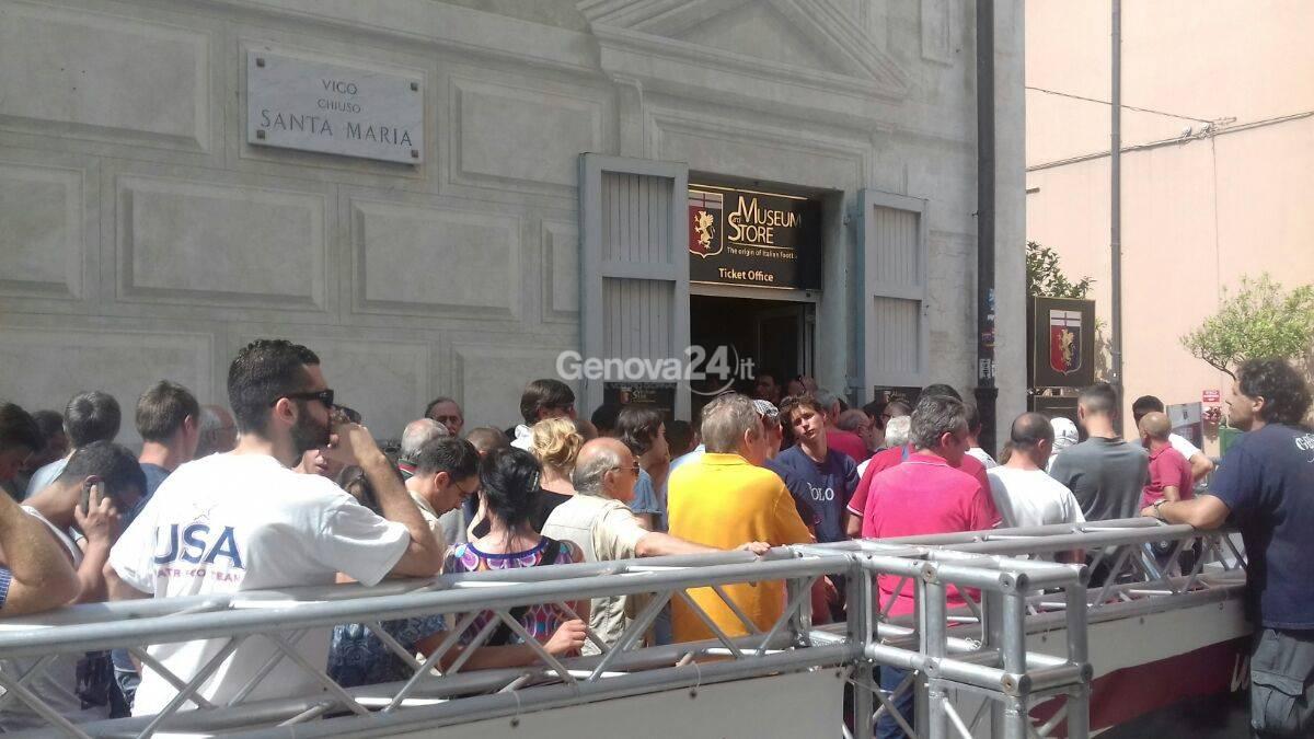 Code per gli abbonamenti al Genoa Store