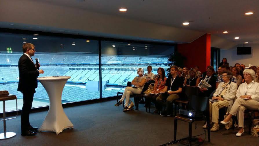 Conferenza dell'Agenzia in Liguria a Monaco di Baviera