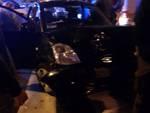 cornigliano ruba sui auto incidentate