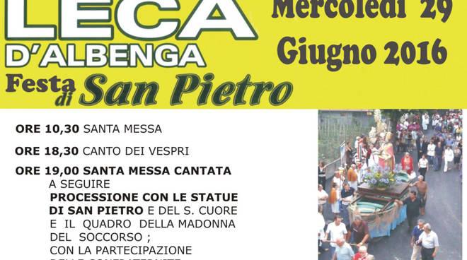 Festa di San Pietro a Leca d'Albenga