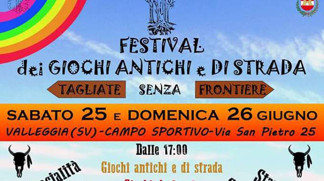 Festival dei giochi antichi e di strada a Valleggia