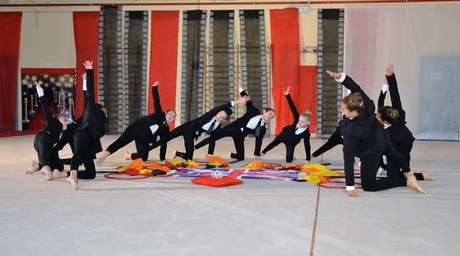 M nastro danza palestra ginnastica ritmica ginnastica artistica