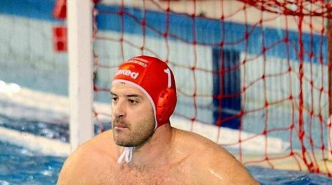 Goran Volarevic è un portiere della Pro Recco