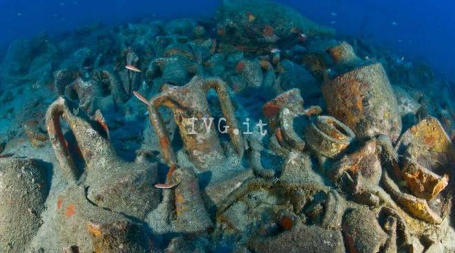 """I relitti romani e l'isola Gallinara diventano un """"museo subacqueo"""""""