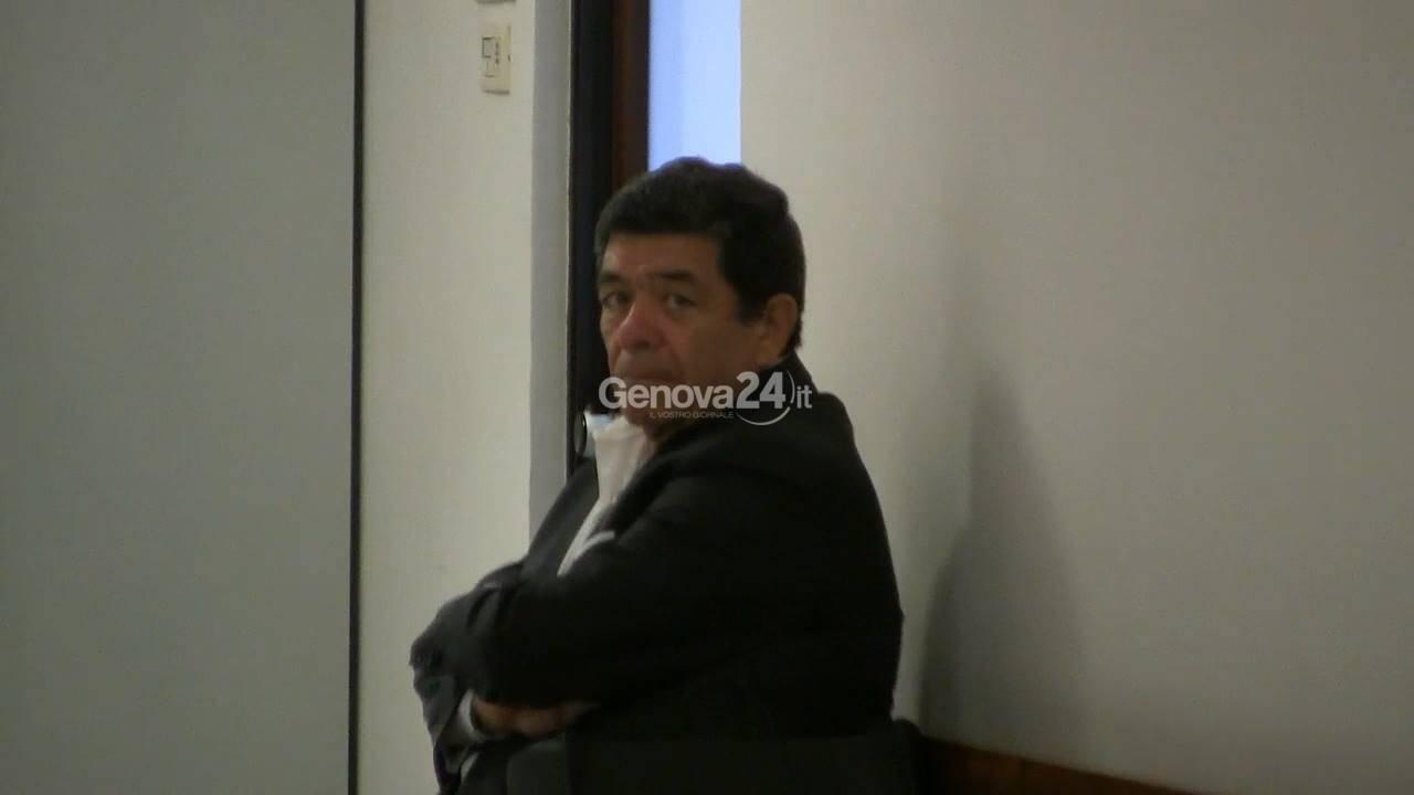 Il sindaco Giuseppe Sanguineti in tribunale