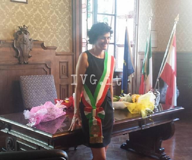Ilaria Caprioglio proclamata Sindaco di Savona