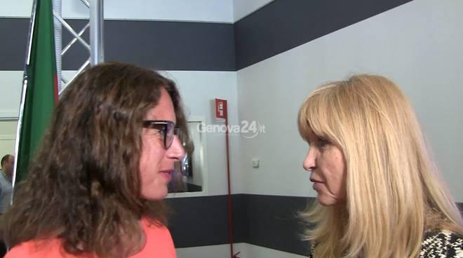 Ilaria Cavo e Dori Ghezzi