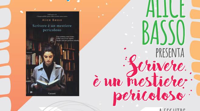 """""""In...Chiostro con l'Autore"""" Alice Basso """"Scrivere è un mestiere pericoloso"""""""