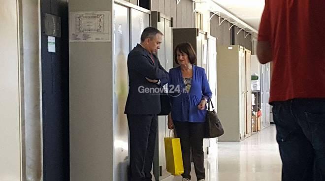 'Ndrangheta a Lavagna, Mondello e il sindaco Sanguineti in tribunale