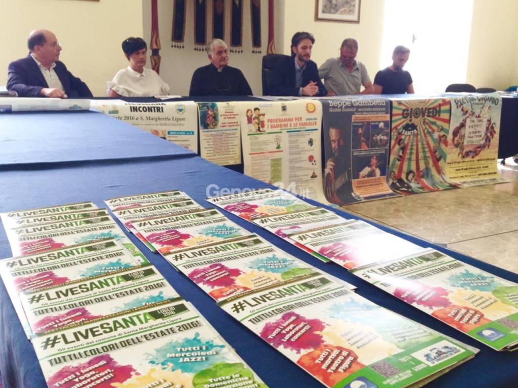 Presentazione eventi estivi a Santa Margherita