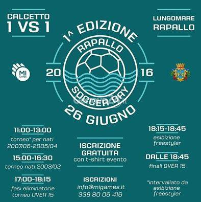 Rapallo Soccer Day