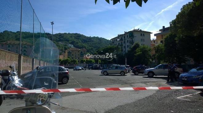 Renzi a Rapallo, parcheggi del Macera sgomberati