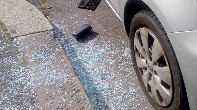 sampierdarena auto vandali