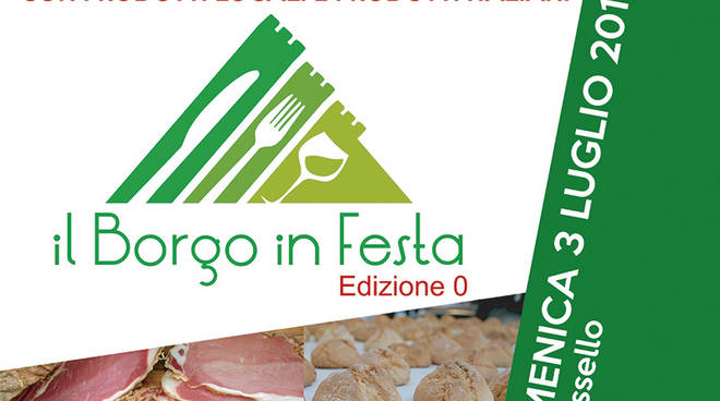 """Sassello """"Il Borgo in Festa"""" Mercato enogastronomico"""