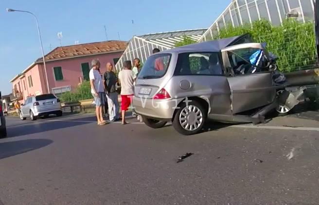Schianto ad Albenga