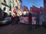 Sciopero e corteo dei metalmeccanici a Genova