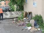 Sgomberati i Rom n Via lungo Mare Canepa  continua la bonifica