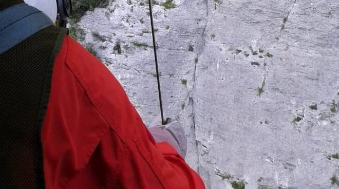 soccorso alpino rocciatore