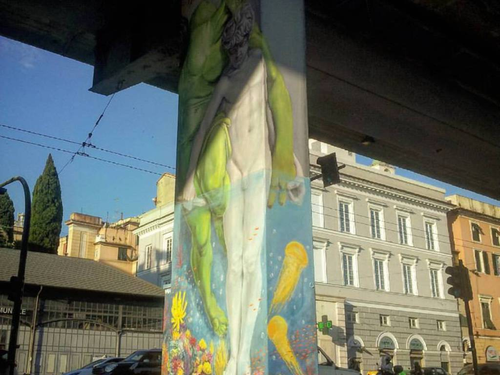 spartaco sopraelevata pilone walk the line ruben carrasco