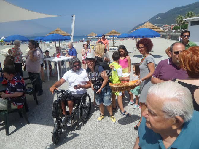 Spiaggia per disabili a Chiavari
