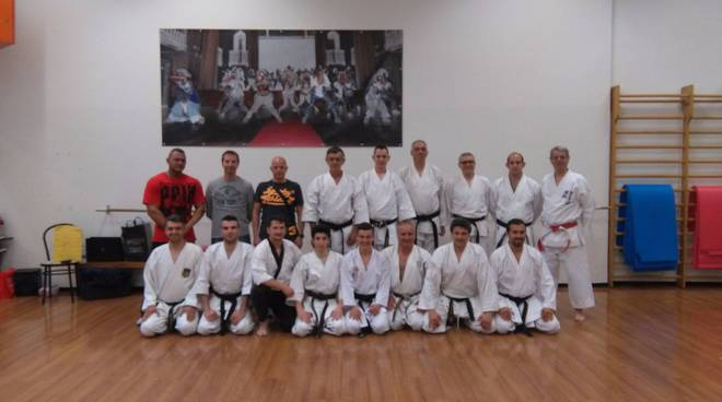 stage Tecnico Karate albenga