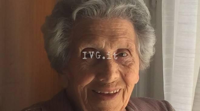 Loano Maria Rosa Balbi Centenaria