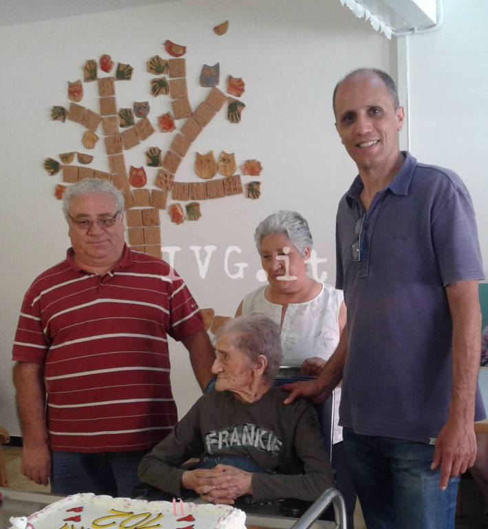Albisola Superiore 102 anni Giovannina Adesso