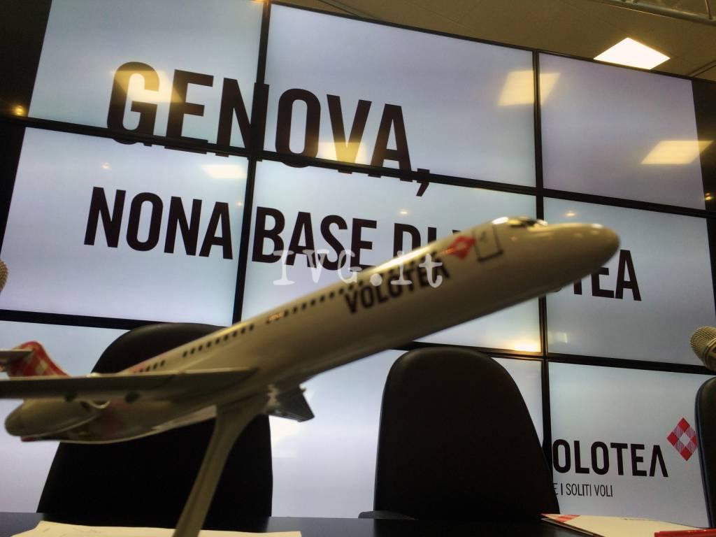 Volotea Genova presentazione